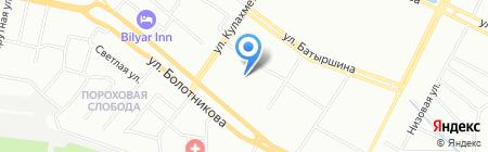 Средняя общеобразовательная школа №70 с углубленным изучением отдельных предметов на карте Казани