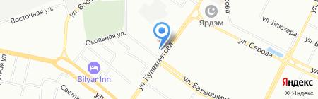 Авто на карте Казани