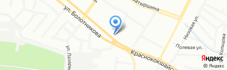 Ривьера на карте Казани