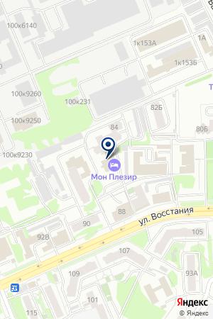 ОЗДОРОВИТЕЛЬНЫЙ ЦЕНТР МОН ПЛЕЗИР на карте Казани