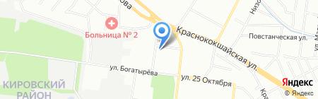 Детский сад №69 Теремок на карте Казани