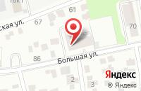 Схема проезда до компании Сажень в Казани