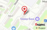 Схема проезда до компании Солбимед в Казани