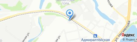 Комсомольская правда на карте Казани