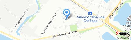 RАЙ на карте Казани