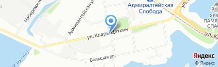 РОШЭ на карте Казани