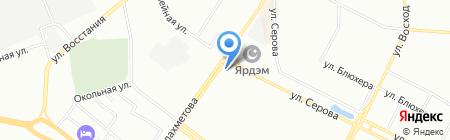 Строй ковчег на карте Казани
