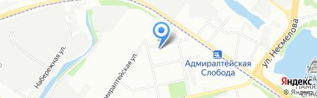 Детский сад №378 Золотая рыбка на карте Казани