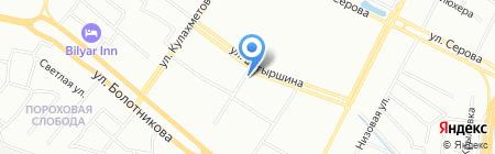 Татьяна на карте Казани