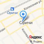 Чайник на карте Кирова