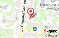 Схема проезда до компании Арыш мае в Казани