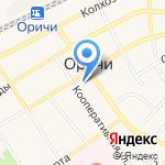Интерьер на карте Кирова