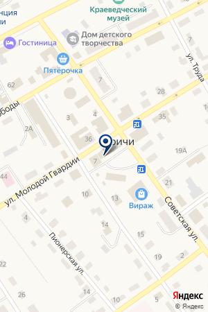 №1Оричевское районное потребительское общество на карте Оричей