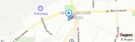 Детский сад №222 Солнечный зайчик на карте Казани