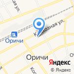 Оричевский районный краеведческий музей на карте Кирова