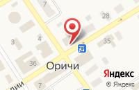 Схема проезда до компании Центральная районная библиотека им. Л.В. Ишутиновой в Оричах
