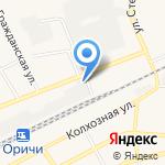 Алекс Хлеб на карте Кирова