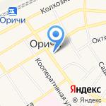 Стройбери на карте Кирова