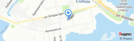 Трудовик на карте Казани