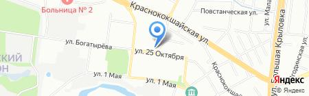 Гульнара на карте Казани