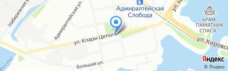 Опорный пункт общественного порядка Отдел полиции №3 Зареченский на карте Казани