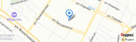 Оконные конструкции на карте Казани