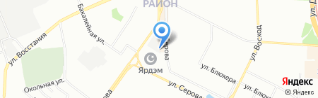 Гамбит на карте Казани