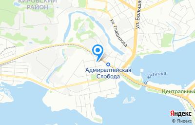 Местоположение на карте пункта техосмотра по адресу г Казань, ул Красного Химика, д 6А, оф 8