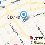 Агентство ритуальных услуг на карте Кирова