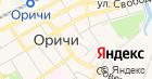 Оричевское отделение вневедомственной охраны на карте