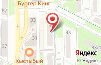 Схема проезда до компании Спектр в Казани