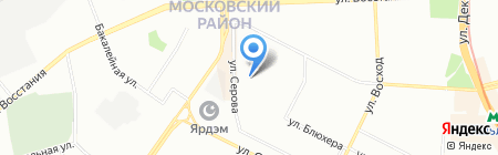 ОкнаСити на карте Казани