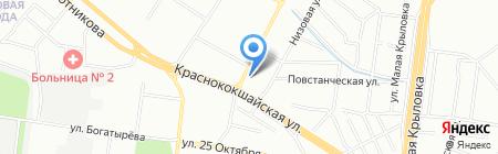Банкомат АКБ БТА-Казань на карте Казани