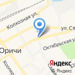 Полюс на карте Кирова