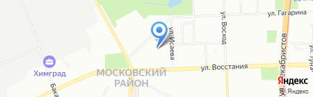 Сеть аптек на карте Казани