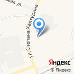 Оричевское на карте Кирова