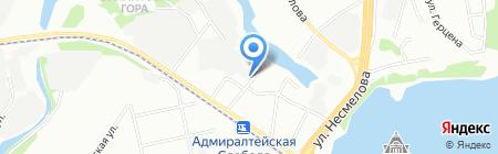 Зеленоглазое на карте Казани