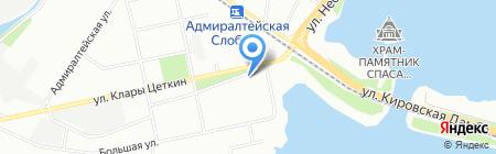Мастерская по изготовлению ключей на ул. Столярова на карте Казани