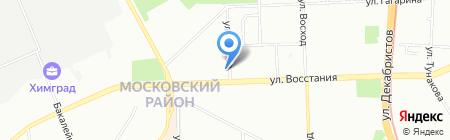 Имидж на карте Казани