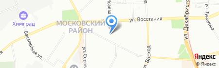 Татсталькомплект на карте Казани