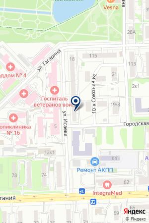 ПРОЕКТНАЯ ФИРМА СТРОЙПРОЕКТ на карте Казани