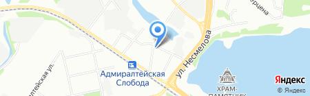 Отделение по Кировскому району отдела ГИБДД на карте Казани