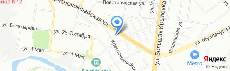 Ягодная слобода на карте Казани