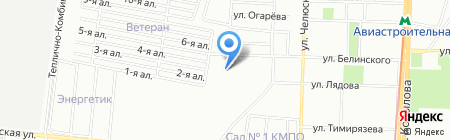 Домовой на карте Казани