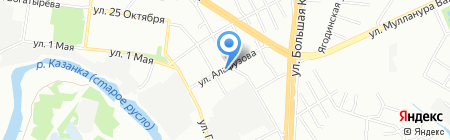 Магия серебра на карте Казани