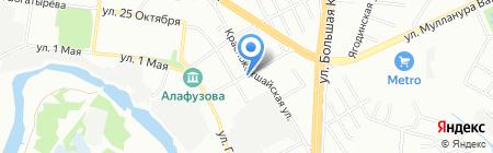 Авангард-Риэлт на карте Казани