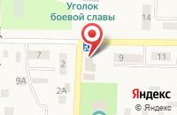 Схема проезда до компании ЛакМусс в Луначарском
