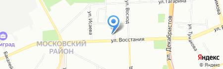 ИгМа на карте Казани