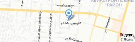 Средняя общеобразовательная школа №119 на карте Казани