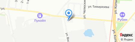 Элодея на карте Казани